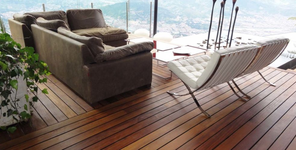 DECK DE MADERA NATURAL IPE