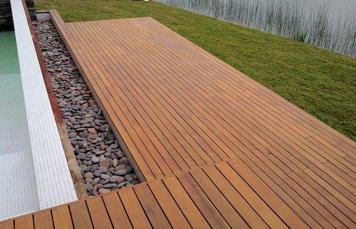 Deck natural tejas y duelas venta e instalaci n en - Maderas sinteticas para exteriores ...