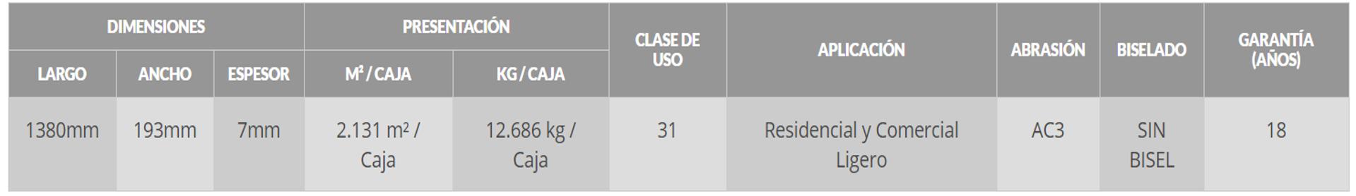 Clasico 7mm