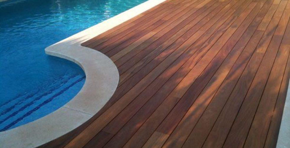 Deck de madera natural ipe tejas y duelas monterrey for Ipe madera exterior