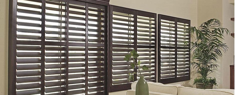 Persiana horizontal de madera venta e instalaci n en for Persianas madera